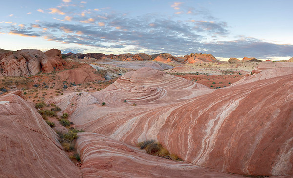 Nevada, Valley of Fire - Fire Wave