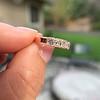 1.28ctw Asscher Cut Diamond 5-Stone Band, 18kt Rose Gold 3