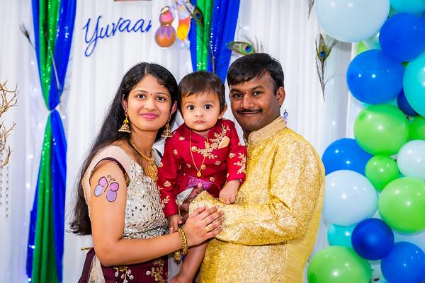 Yuvaan's 1st Birthday