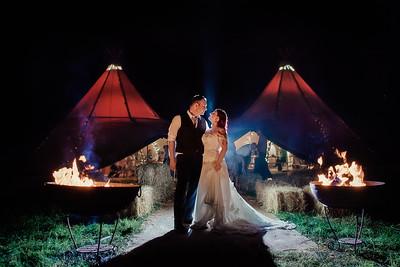 Dawn and Leigh's Magical Woodland Wedding