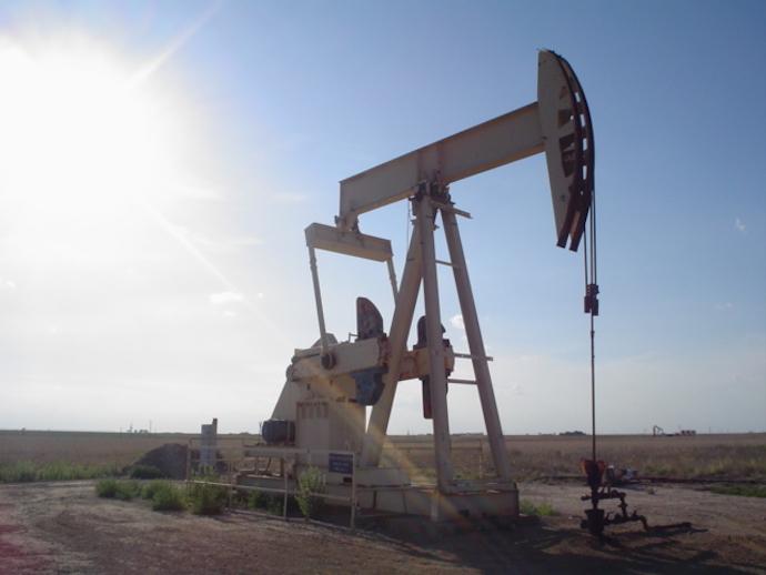 oil well texas