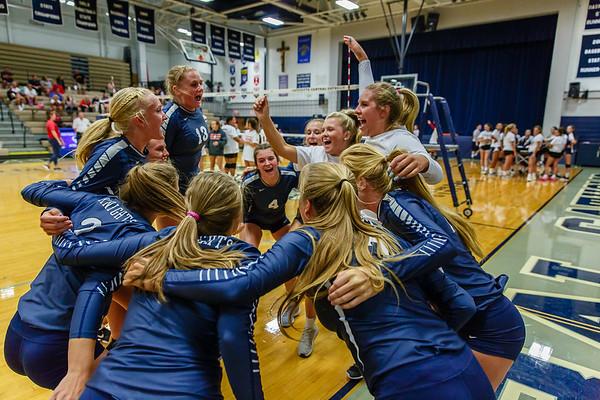 CC Volleyball vs Logansport 2018-8-14