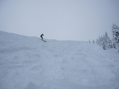 Skiing on 12/21/2010