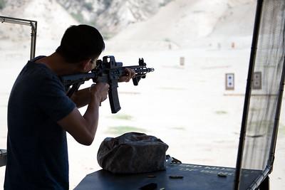 8.23.2015 / Shooting Range / Los Angeles, California
