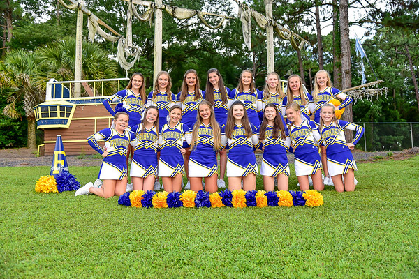 Fairhope Middle School Cheerleaders