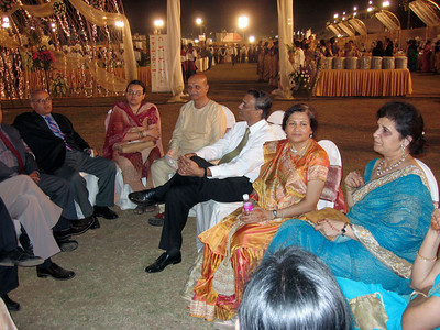 At Aparna's wedding (Ashiwn & Shobhna's daughter)