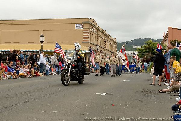 July 2006 Old Fashioned Fourth of July Parade and Social Seaside Oregon Snapshot Gallery