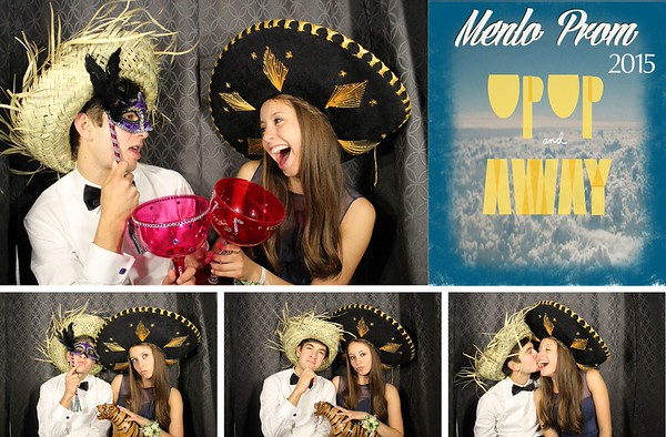 Menlo Prom Up Up and Away 5.16.15 Photo Strips