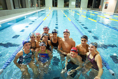 Athlete Swimming Session