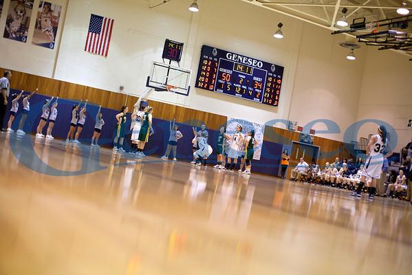 Women's Basketball vs Oswego Honoring Faculty 01/24/12