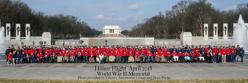 Honor Flight #15 (Apr2018)