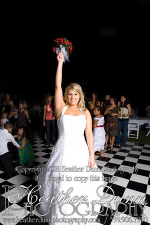 Bouquet & Garter Toss