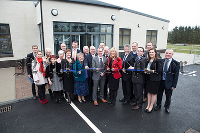 Minister Michelle O'Neill officially opens the new £1 million Community Centre in Cullaville. R1510002