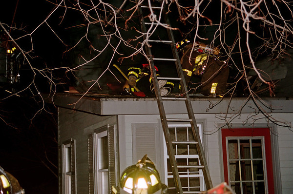 Feb 2001 Westbrook Structure Fire
