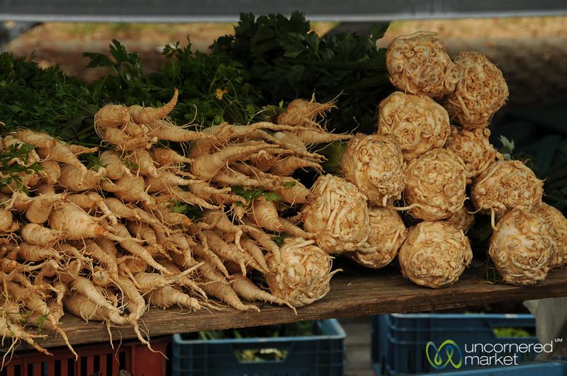 The Joy of Root Vegetables - Prague, Czech Republic