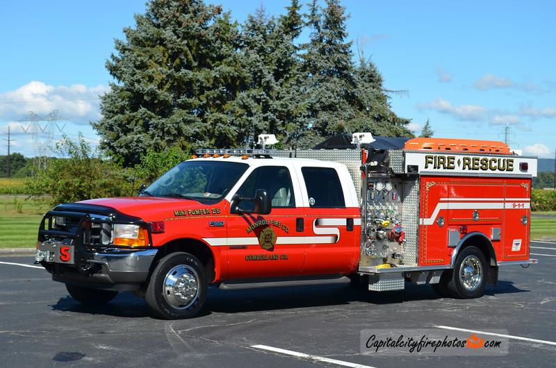 Monroe X-Mini Pumper 25: 2001 Ford F-350/BME 750/250 (** Sold to Lake City, MI **)