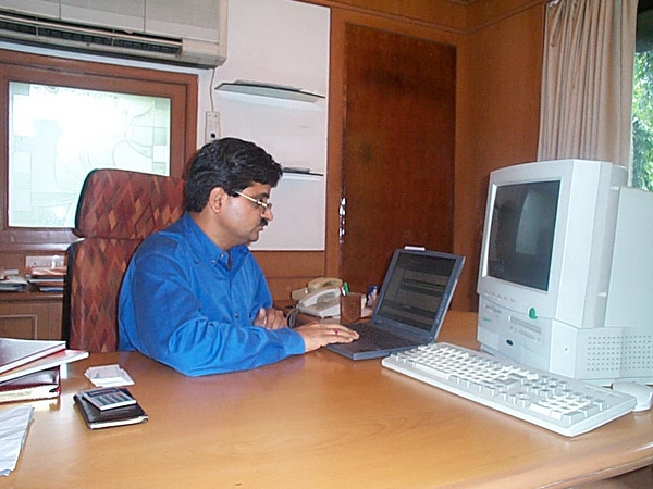 Infoquest (Ideaventures) Office, October 2001