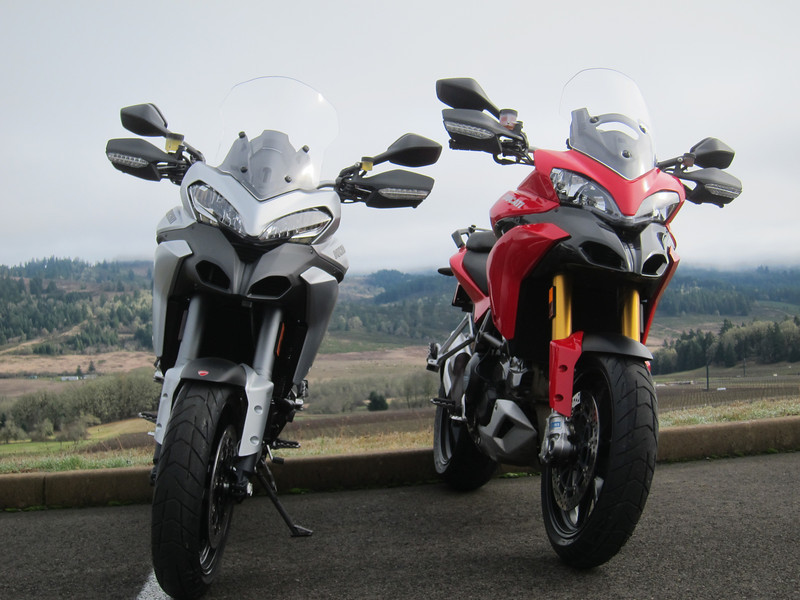 22/24: Testing the 2013 Ducati Multistrada (and how it compares to the 2010-12 Multistrada)