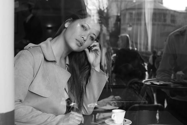 Linh Say, Un Jour de Mars 2019, à Montmartre