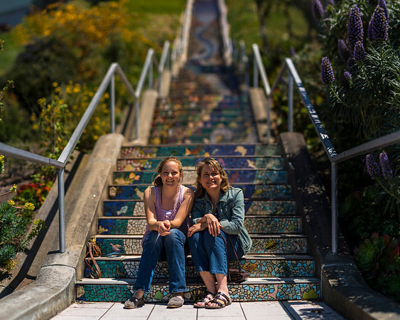 Sunset District - Mosaic Stairs and Grand Park