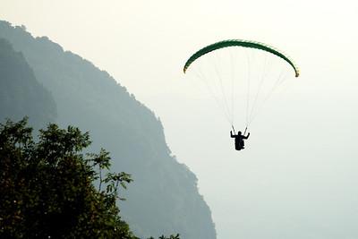 Paragliding, 2012.