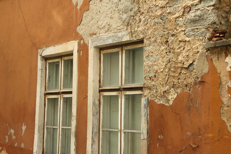 Crumbling walls, Old Town -Tallinn, Estonia