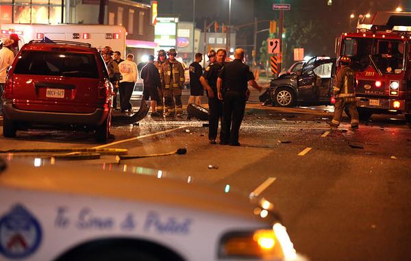 June 29, 2009 - Serious MVC - Morningside Ave / Kingston Rd