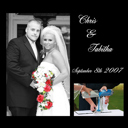 Tabitha & Chris Wedding Album