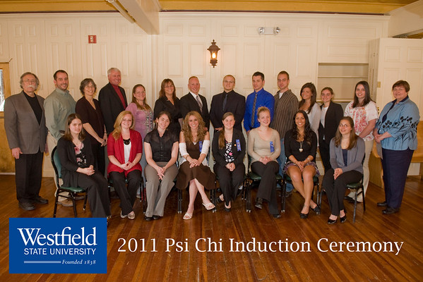 Psi Chi Induction 2011