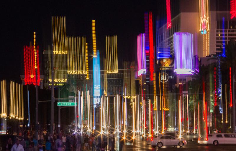 Falling Into the Las Vegas Strip