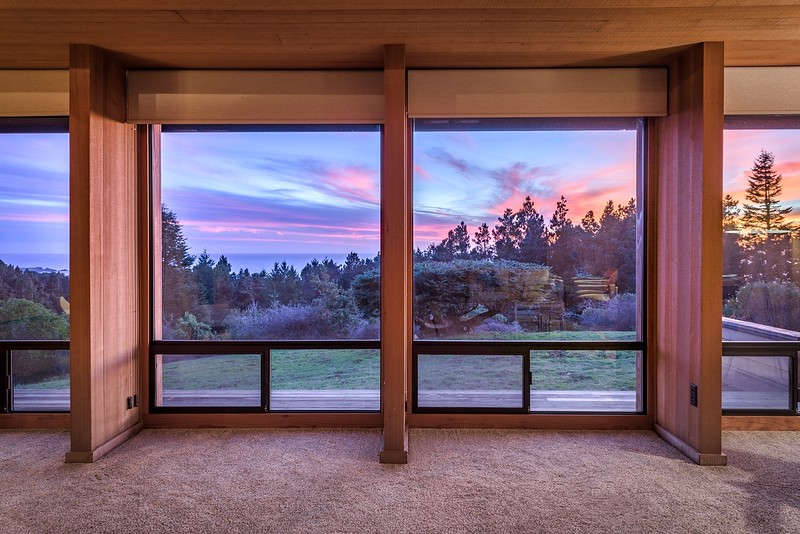 Sunset Views from Living Room