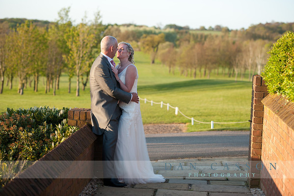 Sharon & Andy. STOCK BROOK COUNTRY CLUB