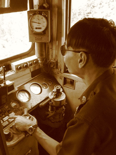 Trusty driver on the Mae Khlong Route which began service in 1906