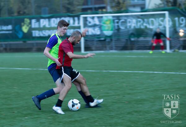 TASIS Varsity Boys Soccer vs the Faculty!