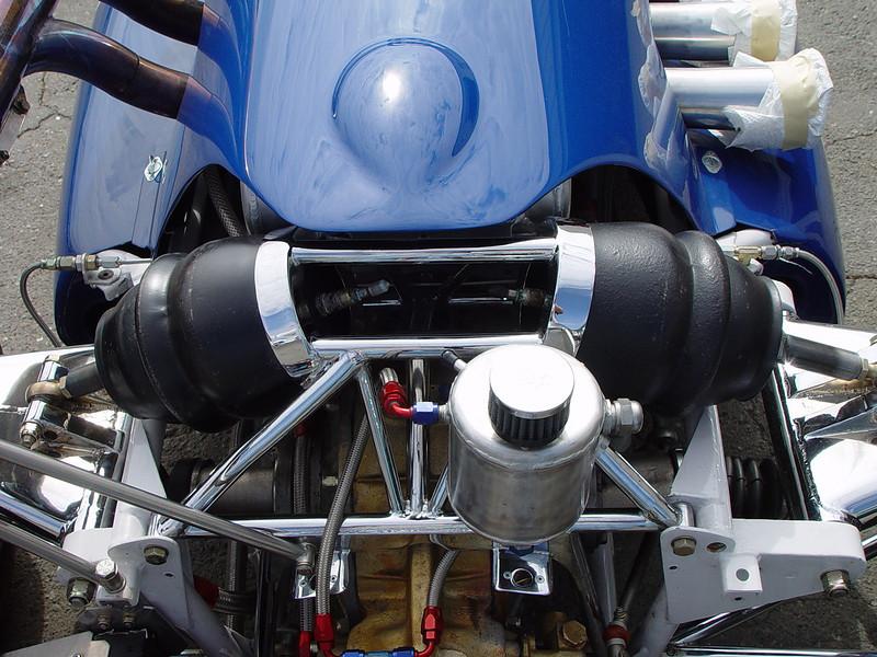 MG Indy Car suspension