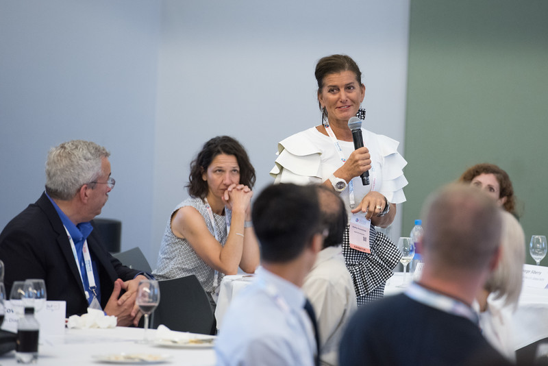 22nd International AIDS Conference (AIDS 2018) Amsterdam, Netherlands   Copyright: Marcus Rose/IAS  Photo shows: ILF Roundtable. Rapid Access to New Technology and Reaching the Unreached.