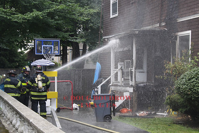 Winthrop, MA - Working Fire, 131 Bartlett Road, 7-13-11