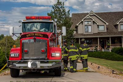 Zeno Street Basement Fire