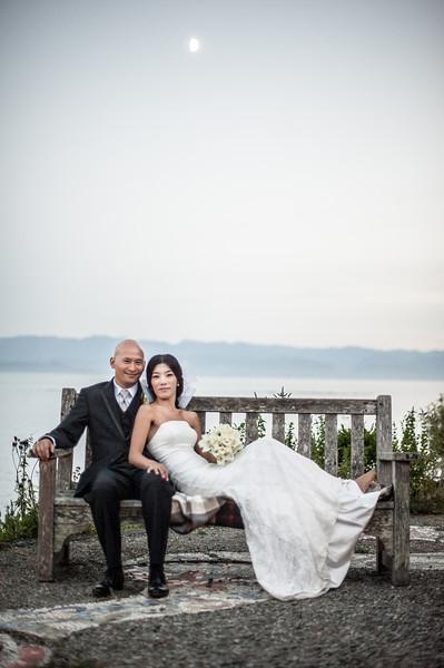 Adrian and Kyung Hwa