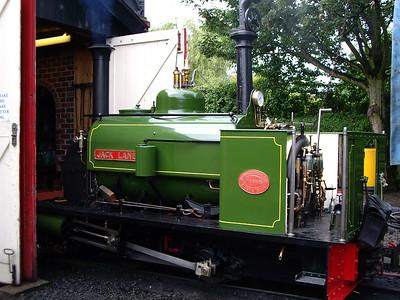 Visiting locomotives