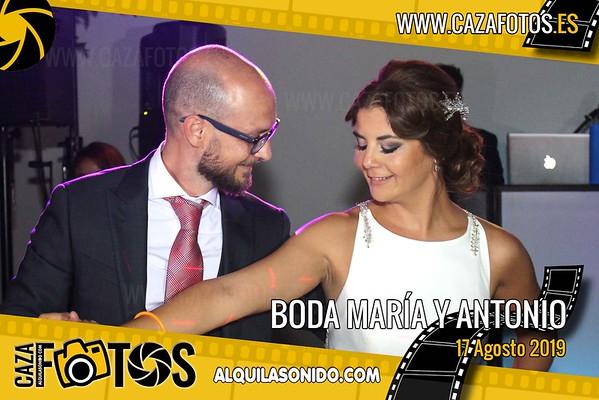 BODA MARÍA Y ANTONIO - 17 AGOSTO 2019