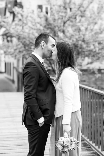 La Rici Photography - Intimate City Hall Wedding 134BW.jpg