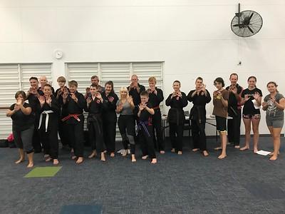 Unarmed Combat Self Defence Course Noosa Feb 2019
