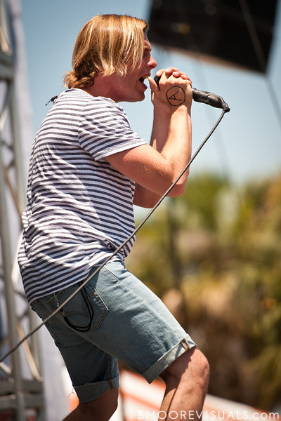 Aaron Bruno of AWOLNATION performs on May 28, 2011 during 97X Backyard BBQ at Vinoy Park in St. Petersburg, Florida