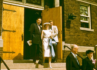 Betty and Norm Wedding June 30, 1956