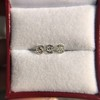 1.54ctw Antique Cushion Cut 3-stone Suite 3