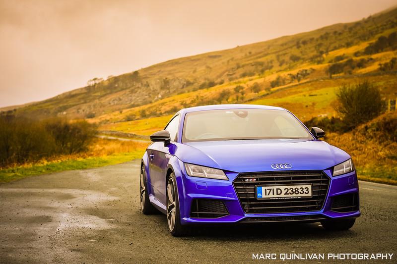 Audi TTS - Capel Curig 2019