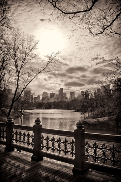 Central Park Lake, New York