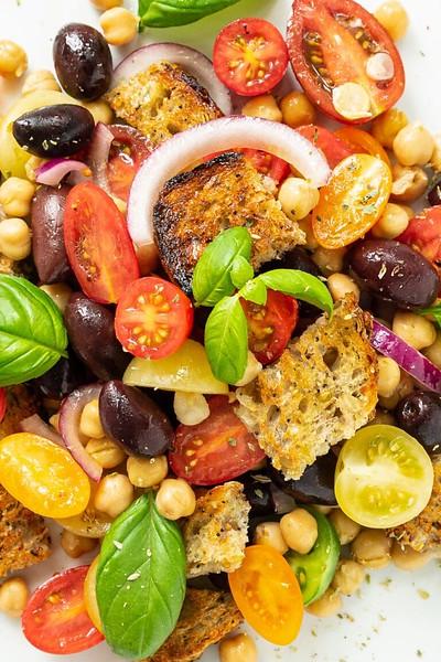 Panzanella Recipe - Vegan Italian Recipes
