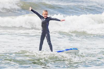 Tegan Surfing Long Beach 9-27-20